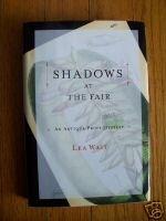 Shadows at the Fair by Lea Wait (2002) HB DJ 1st Edition