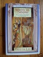 White As Snow - Tanith Lee 2000 HB DJ