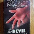 The Devil to Pay by Ellery Queen HB DJ 1941