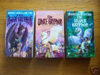 Mercedes Lackey Lot of 3 pb Black White Silver Gryphon