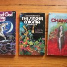 Lot of 3 Ann Maxwell pb Singer Enigma, Change, Dead God