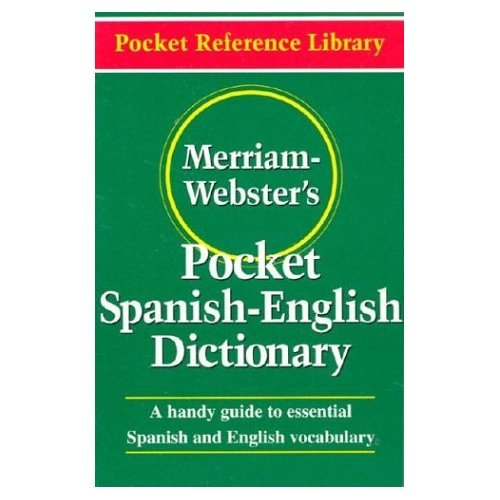 Merriam-Webster's Pocket Spanish-English Dictionary Wholesale 6 Pack