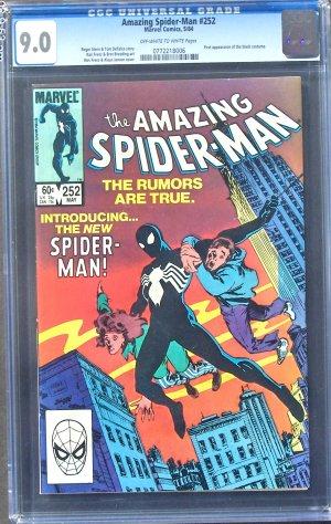 AMAZING SPIDER-MAN #253 GCG 9.0