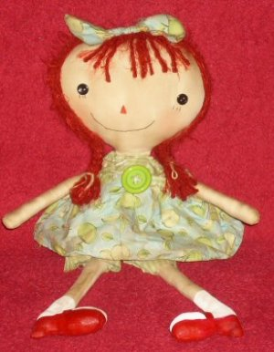 Green Apples and High Hills Raggedy Dollie