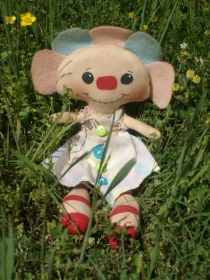 Falloon Flower Raggedy Dollie