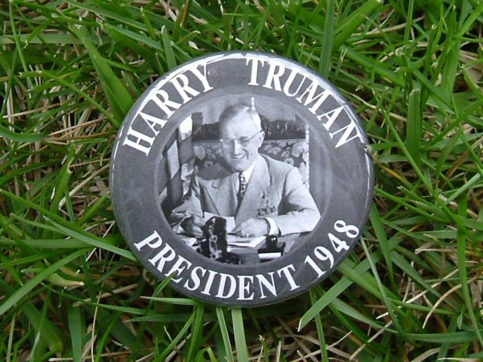 7 PACK of POLITICAL CAMPAIGN BUTTON BUTTONS PIN  PINS PINBACKS for PRESIDENT HARRY S TRUMAN