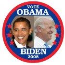 PRESIDENT ELECT BARACK OBAMA and VP JOE BIDEN (7-PACK OF BUTTONS Political Buttons Pins Pinbacks)