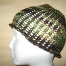 Green Camo skully knit hat