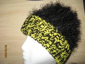 Pittsburgh Fun Fur hat with brim