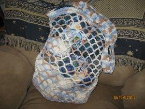 String market bag-medium