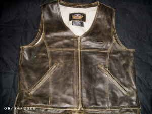 Brand NEW Harley Davidson Leather Vest
