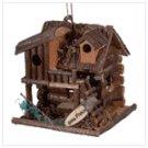 Fishing Cabin Birdhouse