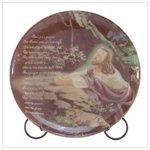 Jesus Praying Porcelain Plate