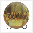 Plate With Last Supper Print