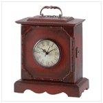 Antiqued Travel Clock