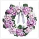 "Hydrangea Wreath - 23 """