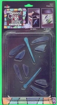 Gallery Glass DRAGONFLY Insert for Stain Glass or Mosiacs