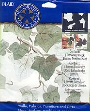 Plaids IVY LEAF Stencil new in package