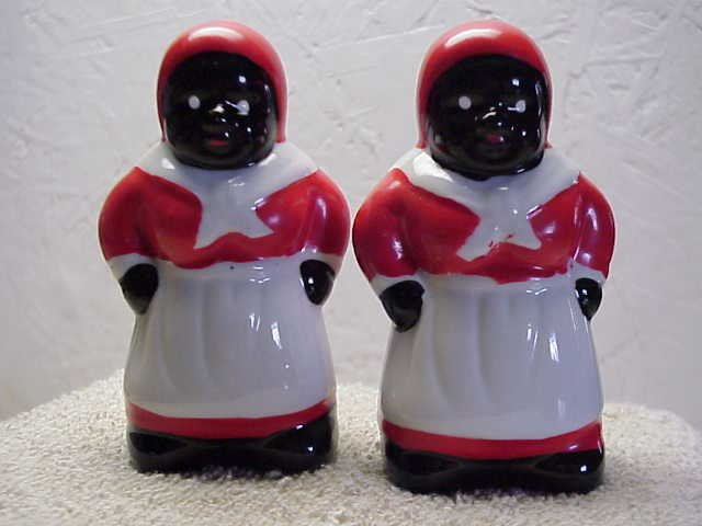 Aunt Jemima Matched Set of S & P shakers
