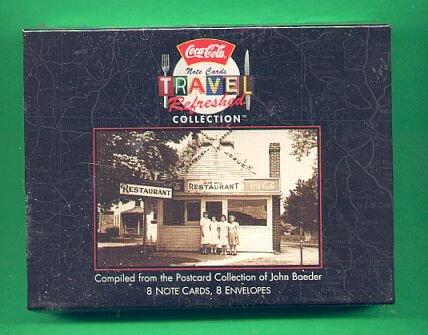 COCA COLA Travel Card Collection