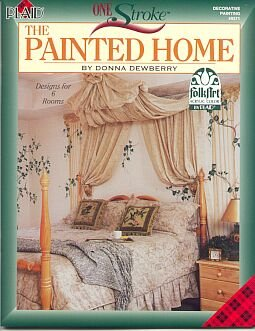 Donna Dewberry ~One Stroke Painted Home