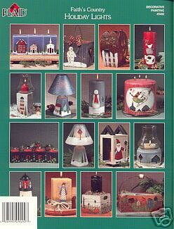Folk Art Country HOLIDAY LIGHTS Booklet by Plaid
