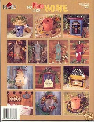 No Place Like Home~15 Folk Art Home Projects Booklet