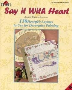 SAY IT WITH HEART~130 Different Patterns Booklet by Plaid