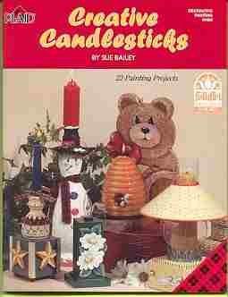 Creative Candlesticks Paint Book ~Sue Bailey