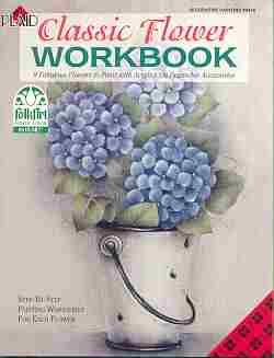 CLASSIC FLOWER WORKBOOK ~Folk Art