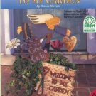 Folk Art Welcome to My Garden Signs + Yard Art