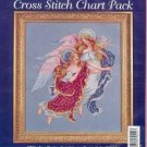 HEAVENLY FRIENDS~Cross Stitch Chart Pack by Bucilla