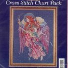Cornucopia Angel~Cross Stitch Chart Pack