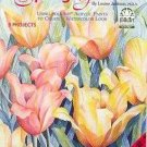 Paint a Watercolored Spring Garden Booklet