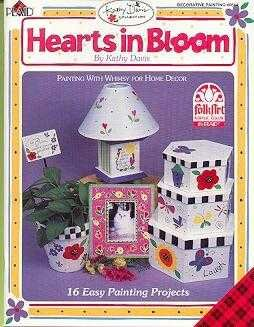 Kathy Davis ~Hearts in Bloom Paint Booklet