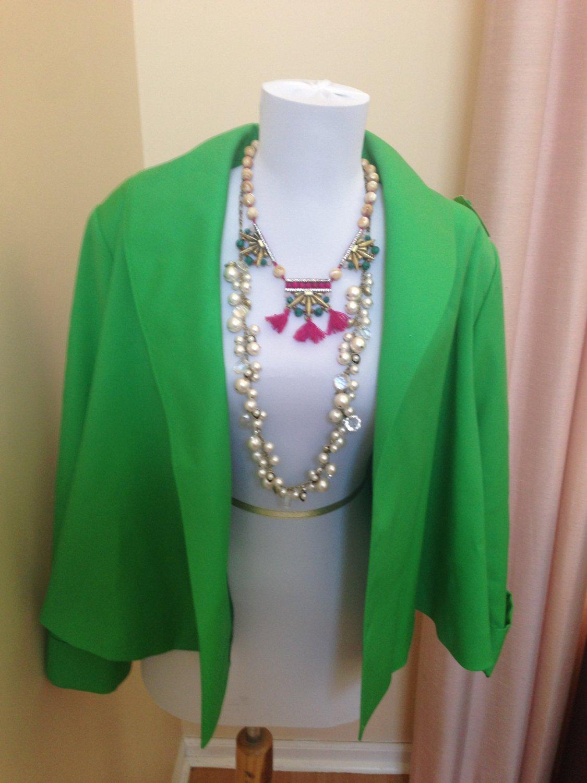 Yves Saint Laurent Vintage Green Blazer