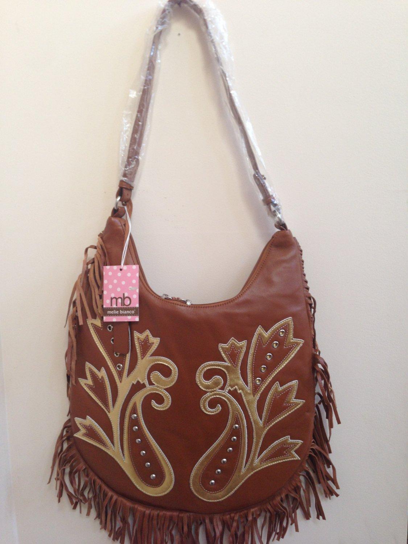 Melie Bianco Bohemian Style leather handbag