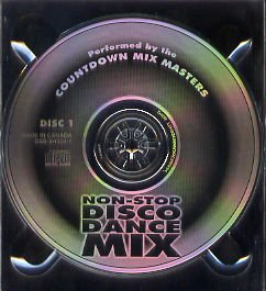 Non Stop Disco Dance Mix 3 Disc Set