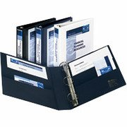 """5"""" Avery® Heavy-Duty View Binders with One Touch� EZD® Rings"""
