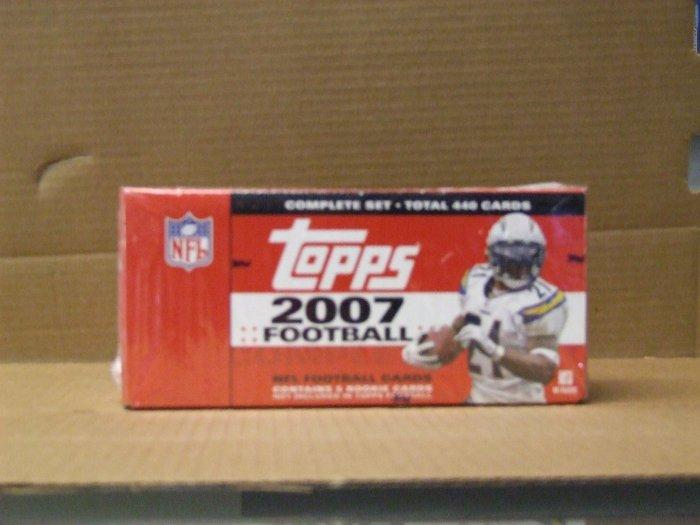 Topps 2007 Football Set