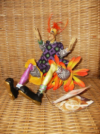 """""""Radishes In The Dish"""" Puppeteer Doll by Kate Church"""