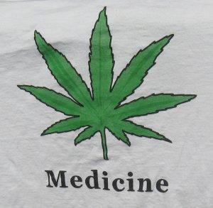 Medicine/Above the DEA's Influence T Shirt