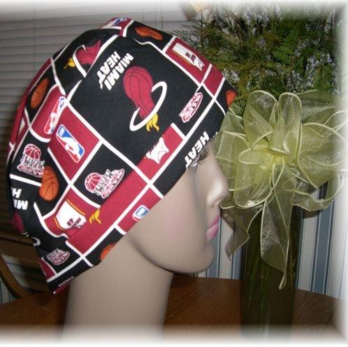 Chemotherapy Caps -  Miami Heat Fabric