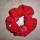Hair Scrunchie - Nebraska Cornhuskers
