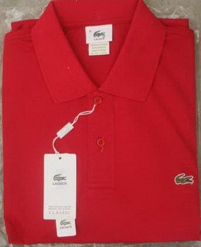 Lacoste Polo - Red