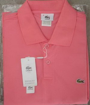 Lacoste Polo - Light Pink