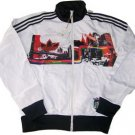 Adidas Jacket - White (Black NY)