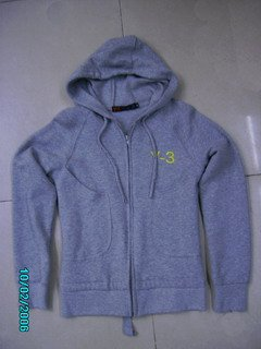 Adidas Jacket - Grey (Hooded)