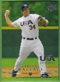 2008 Upper Deck Team USA 2007 National Team Mike Minor #USA-16
