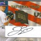 2008 Upper Deck Team USA National Team Autograph Josh Romanski #USA-JR (#'d 160/375)
